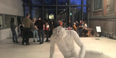 Practice Danish, talk about art  and network with new people