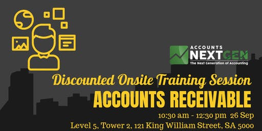 Accounts Receivable Discounted Trial Session (Adelaide 10:30am-12:30pm)