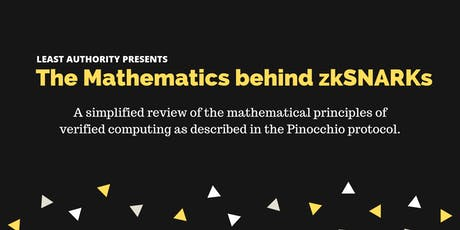 The Mathematics behind zkSNARKS tickets
