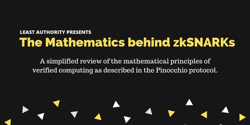 The Mathematics behind zkSNARKS