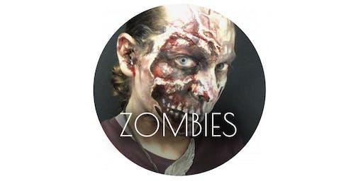 Make-up Workshop: Halloween Zombies