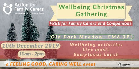 WELLBEING GATHERING - CARERS at CHRISTMAS tickets