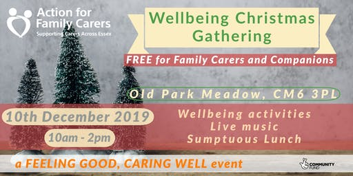 WELLBEING GATHERING - CARERS at CHRISTMAS