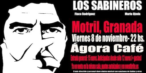 Los Sabineros en Motril, Agora Café Cultural!