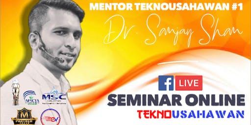 Seminar Online TeknoUsahawan