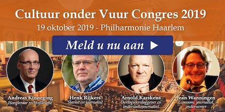 Cultuur onder Vuur Congres 2019 tickets