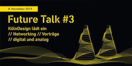 Future Talk #3: Networking Tickets