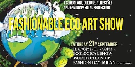 FashionableArtShow MFW19 biglietti