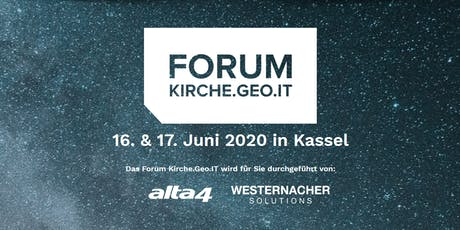 Forum Kirche.Geo.IT 2020 Tickets