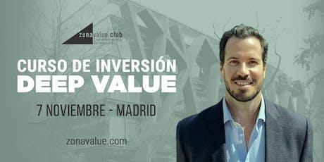 Curso Deep Value Investing con el inversor americano Tobias Carlisle entradas