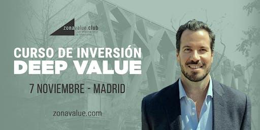 Curso Deep Value Investing con el inversor americano Tobias Carlisle