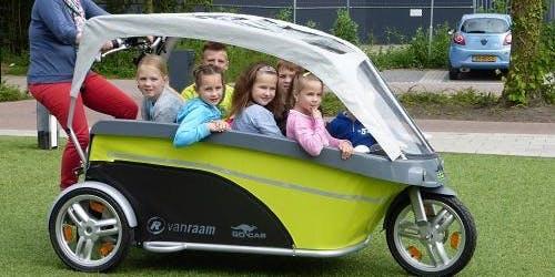 Venez essayer nos vélos bus (8 enfants) et vélos Senior (PMR)
