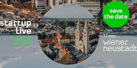Startup Live Wiener Neustadt — The Final Pitches Tickets