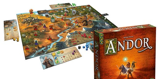 Initiation Au Jeu D'aventure ANDOR - 7 Places Seul