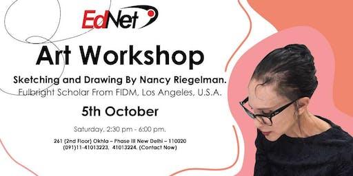 Art Workshop on Sketching & Drawing