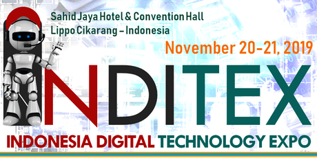 INDONESIA DIGITAL TECHNOLOGY EXPO (INDITEX 2019) tickets
