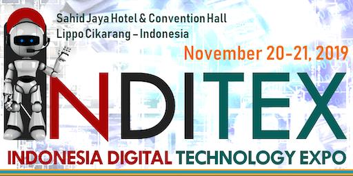 INDONESIA DIGITAL TECHNOLOGY EXPO (INDITEX 2019)