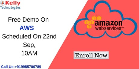 Enroll For Free Demo On AWS tickets