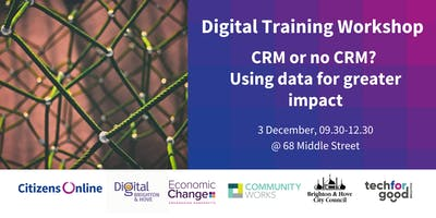 CRM or no CRM? Using data for greater social impact