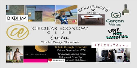 CEC London - Circular Economy Design Showcase tickets