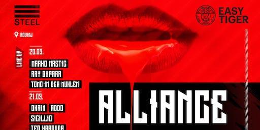 Alliance Festival by #SteelRovinj & #EasyTiger 20 & 21 September