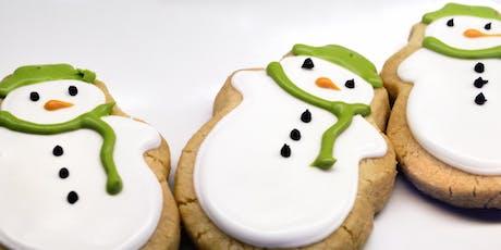 Festive family baking II – Gingerbread snowmen tickets