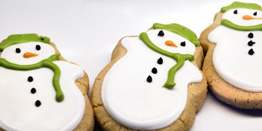 Festive family baking – Gingerbread snowmen
