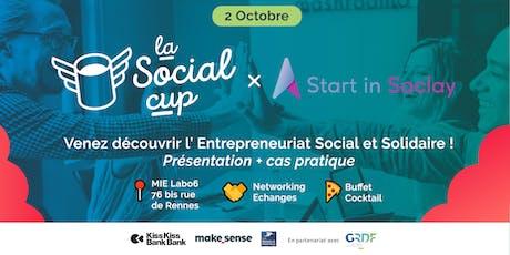 Découvrez l'entrepreneuriat social et solidaire, Social cup x StartinSaclay billets