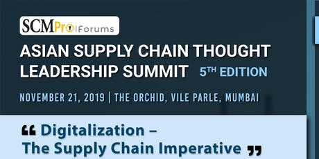 5th Asian Supply Chain Thought Leadership Summit tickets