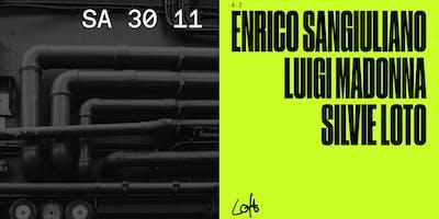 Enrico Sangiuliano, Luigi Madonna & Silvie Loto im Loft