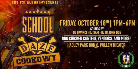 School Daze Cookowt tickets