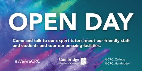 CRC Cambridge Open Day  tickets