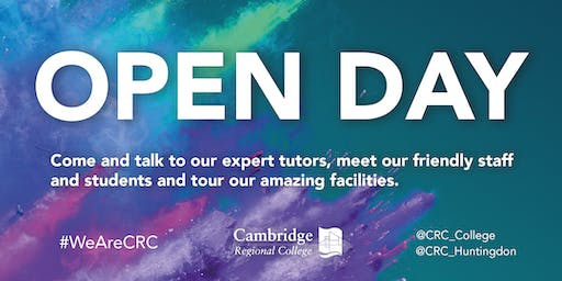 CRC Cambridge Open Day
