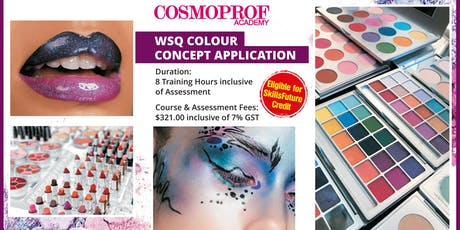 1 Day Funded Color Theory Makeup Course tickets