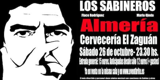 LOS SABINEROS regresan al Zaguán de Almería!