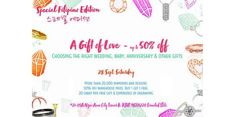 Korean Edition - A Gift of Love - up to 50% off tickets