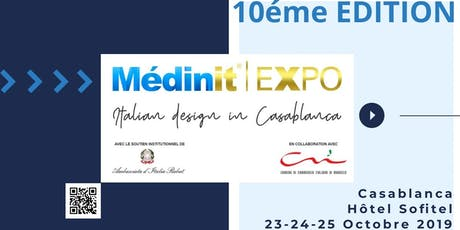 MEDINIT EXPO 2019 CASABLANCA billets