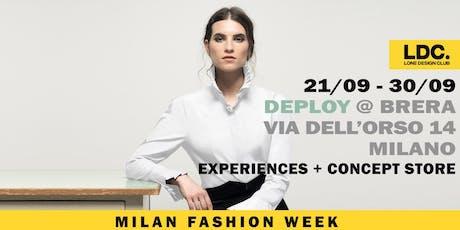 MILAN FASHION WEEK POP-UP biglietti