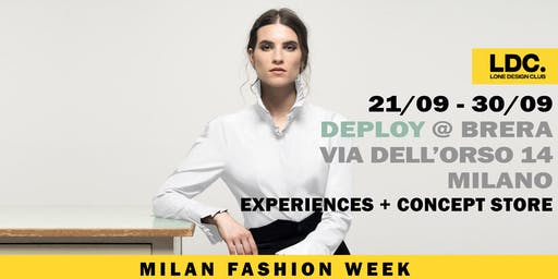 MILAN FASHION WEEK POP-UP