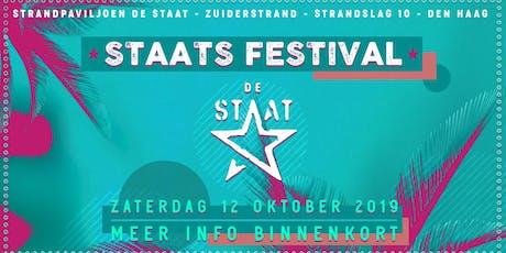 De Staat Season Closing Clubnight tickets