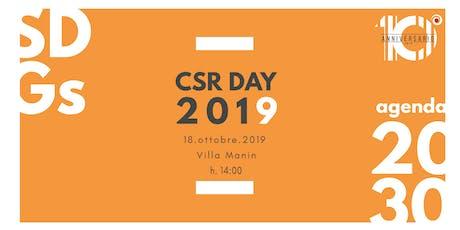 CSR Day 2019 biglietti