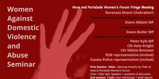 Seminar on Domestic Abuse Conference Fringe