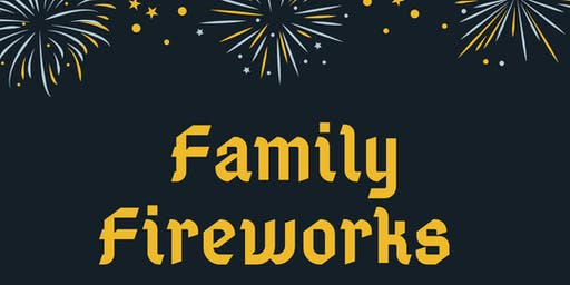 Riddlesworth Hall Family Fireworks