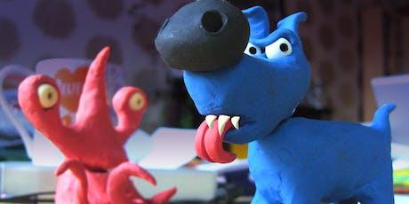 Make a 3D Plasticine Halloween Animation! (P4-P7 kids) Workshop 2 tickets