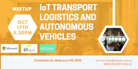 Microsoft+EY+Reesby: IoT Transport Logistics and Autonomous Vehicles Panel tickets