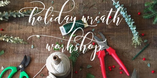 Christmas Wreath Making Workshops - Wednesday 27th November