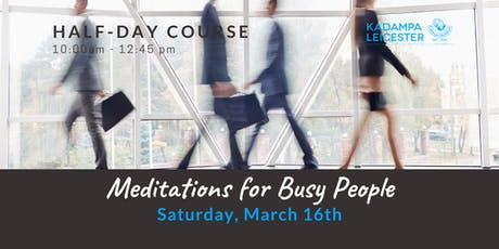 Meditations for Busy People tickets