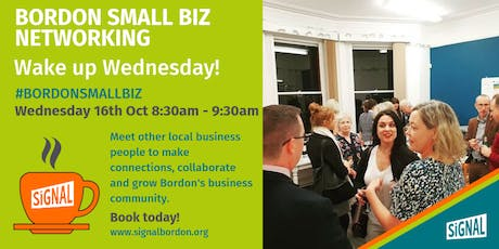 Wake up Wednesday Networking tickets