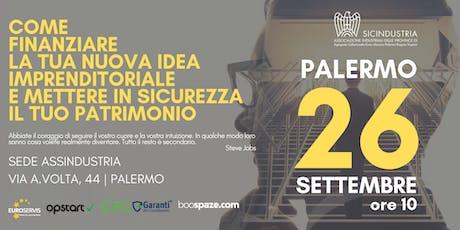 COME FINANZIARE LA TUA NUOVA IDEA IMPREDITORIALE - PALERMO - biglietti