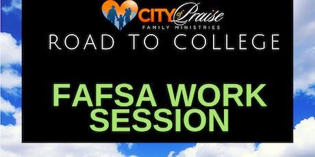 R2C FAFSA DAY Parent & Scholar Work Session tickets